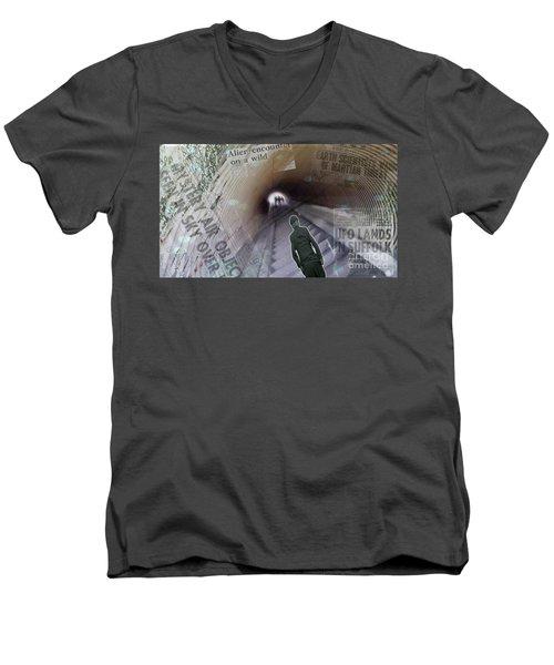 Aliens Men's V-Neck T-Shirt