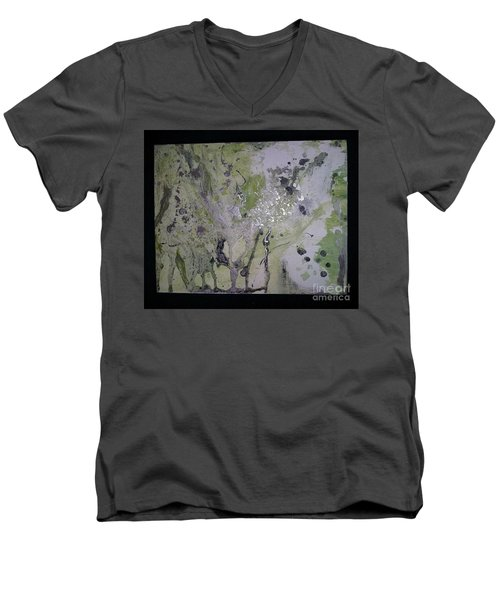Aliens, Wild Horses, Sharks And Skeletons  Men's V-Neck T-Shirt by Talisa Hartley