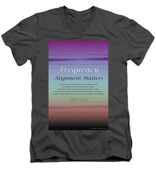 Alignment Matters Men's V-Neck T-Shirt