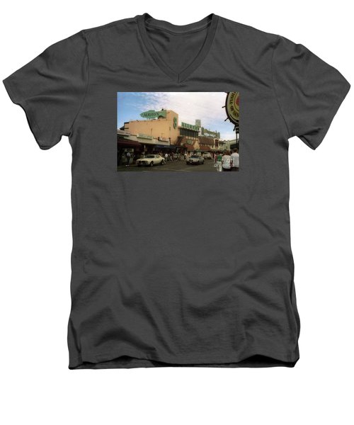 Alioto's Fisherman's Wharf Men's V-Neck T-Shirt
