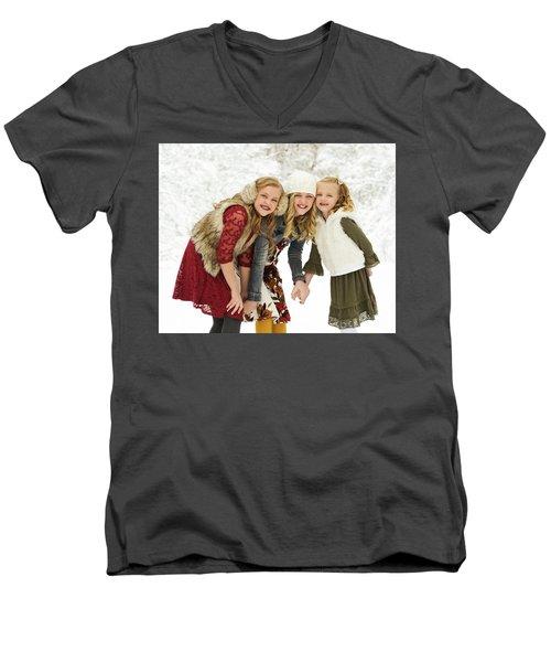 Alison's Family Men's V-Neck T-Shirt