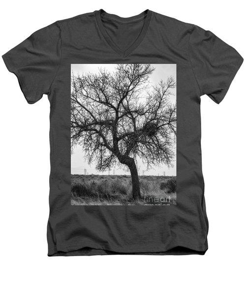 Alive Men's V-Neck T-Shirt