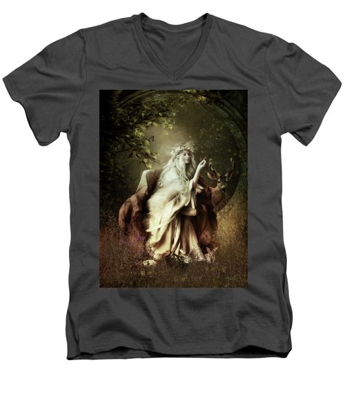 All Creatures Great And Small Men's V-Neck T-Shirt