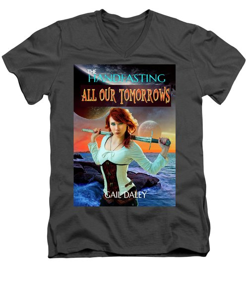 All Our Tomorrows Men's V-Neck T-Shirt