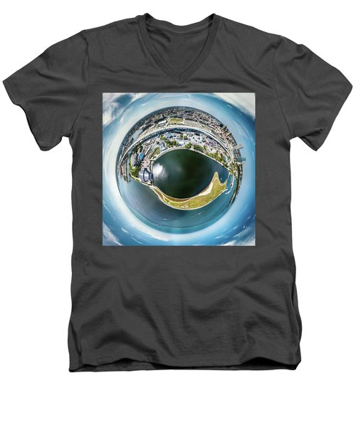 All Seeing Eye Men's V-Neck T-Shirt