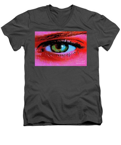 All Seeing Men's V-Neck T-Shirt