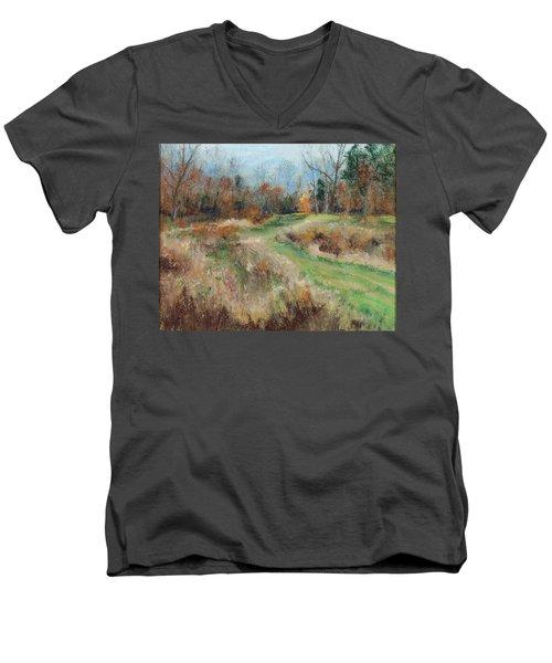 Allardale Impressions Men's V-Neck T-Shirt by Lee Beuther