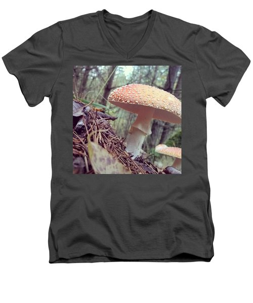 Alle Unter Einem Hut.  #mushrooms Men's V-Neck T-Shirt