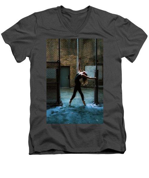 Alley Dance Men's V-Neck T-Shirt