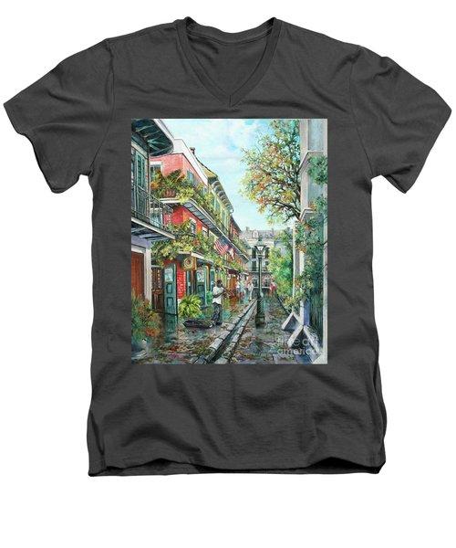 Alley Jazz Men's V-Neck T-Shirt