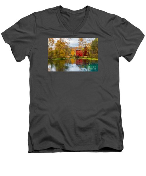 Alley Mill And Spring Men's V-Neck T-Shirt