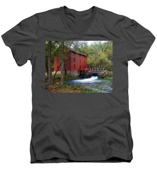 Alley Sprng Mill 3 Men's V-Neck T-Shirt
