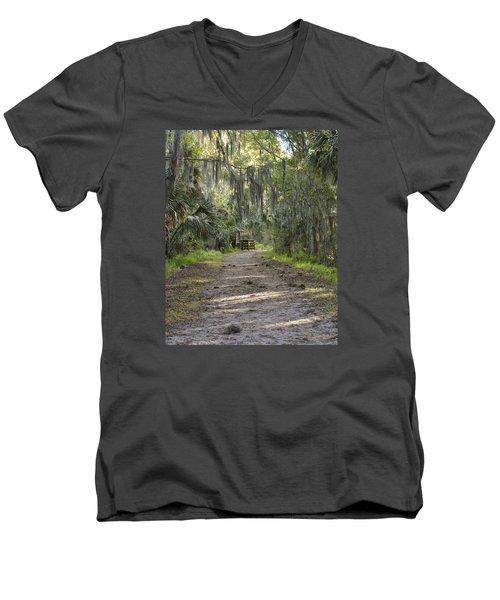 Alligator Alley Men's V-Neck T-Shirt