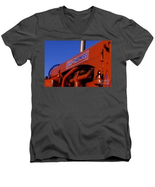 Allis-chalmers Vintage Tractor Men's V-Neck T-Shirt