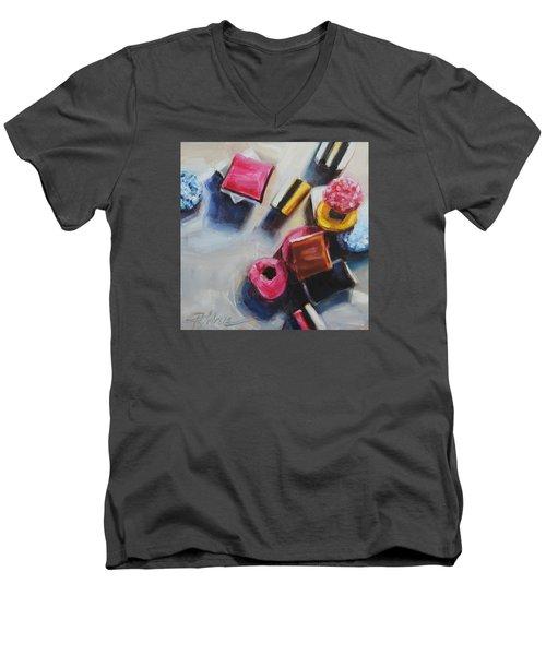 Allsorts Men's V-Neck T-Shirt by Tracy Male