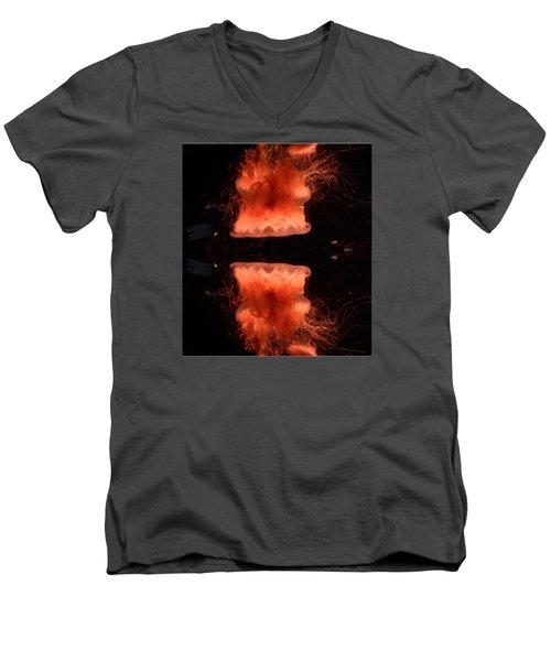 Alluring Jellyfish  Men's V-Neck T-Shirt