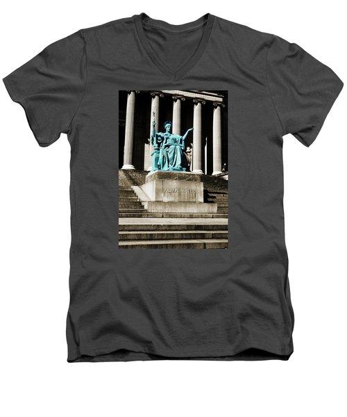 Alma Mater Men's V-Neck T-Shirt