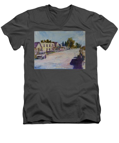 Almont  Men's V-Neck T-Shirt