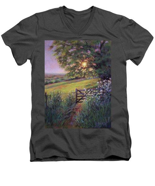 Almost Forgotten Men's V-Neck T-Shirt