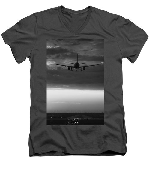 Almost Home Men's V-Neck T-Shirt by Andrew Soundarajan