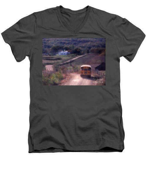 Almost Home Men's V-Neck T-Shirt by Garry McMichael