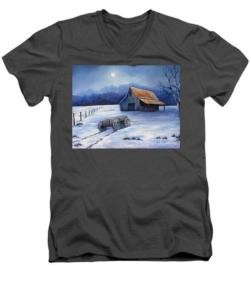 Almost Home Men's V-Neck T-Shirt