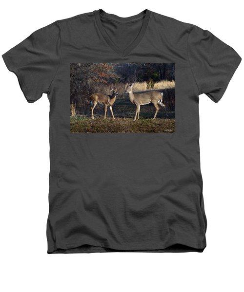 Almost Spring Men's V-Neck T-Shirt by Bill Stephens