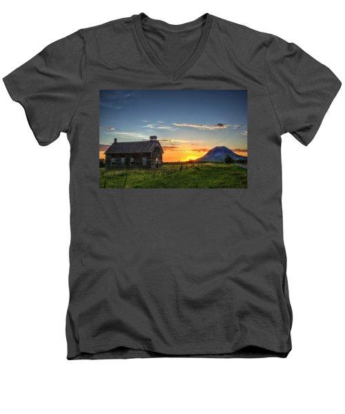 Almost Sunrise Men's V-Neck T-Shirt