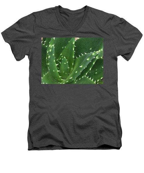 Aloe-icious Men's V-Neck T-Shirt