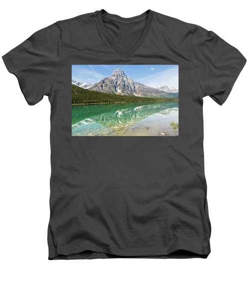 Along Highway 93 Men's V-Neck T-Shirt