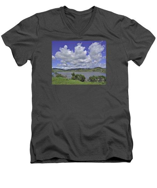 Along The Coast Highway Men's V-Neck T-Shirt