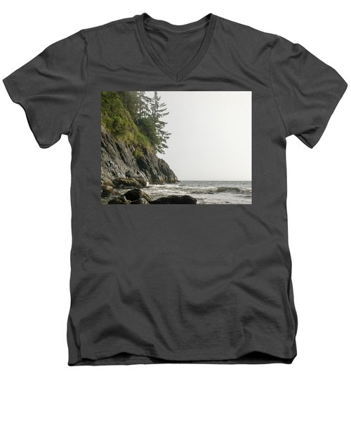 Along The Coast Men's V-Neck T-Shirt