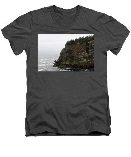 Along The Oregon Coast - 6 Men's V-Neck T-Shirt