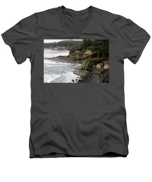 Along The Oregon Coast - 7 Men's V-Neck T-Shirt