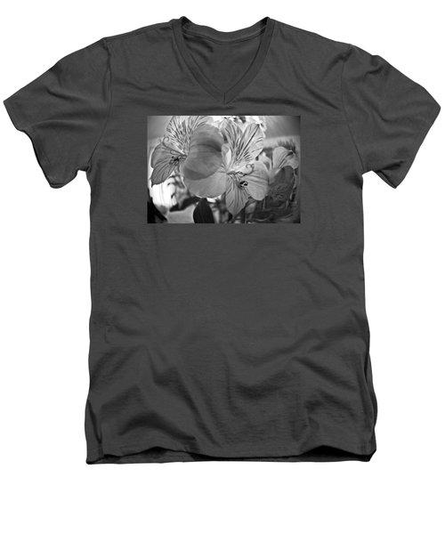 Alosteria 12 Men's V-Neck T-Shirt by Simone Ochrym