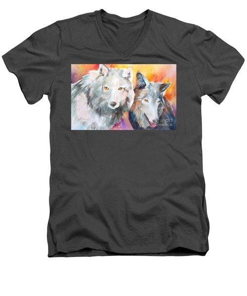 Alpha Beta Men's V-Neck T-Shirt