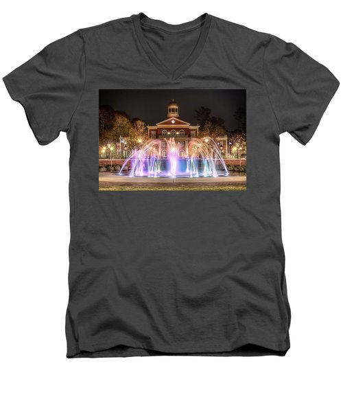 Alpharetta City Hall Men's V-Neck T-Shirt