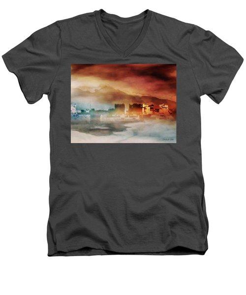 Alpine Landscape II Men's V-Neck T-Shirt