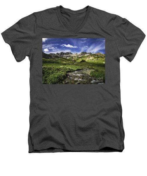 Alpine Loop  Men's V-Neck T-Shirt