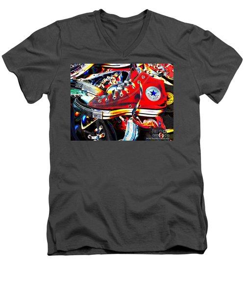 Alte Convieh Gathering Men's V-Neck T-Shirt by Don Pedro De Gracia