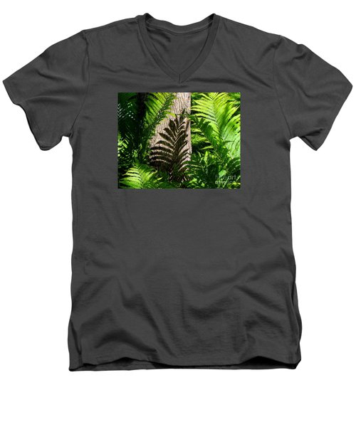 Alter Ego Men's V-Neck T-Shirt by Betsy Zimmerli