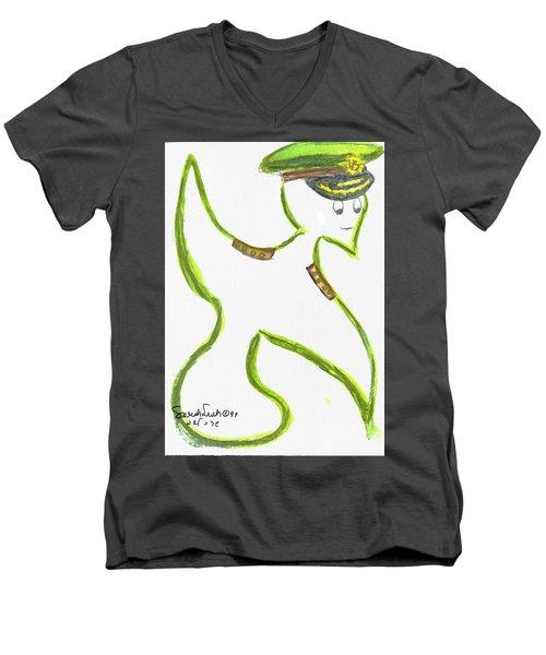 Aluf - General Men's V-Neck T-Shirt