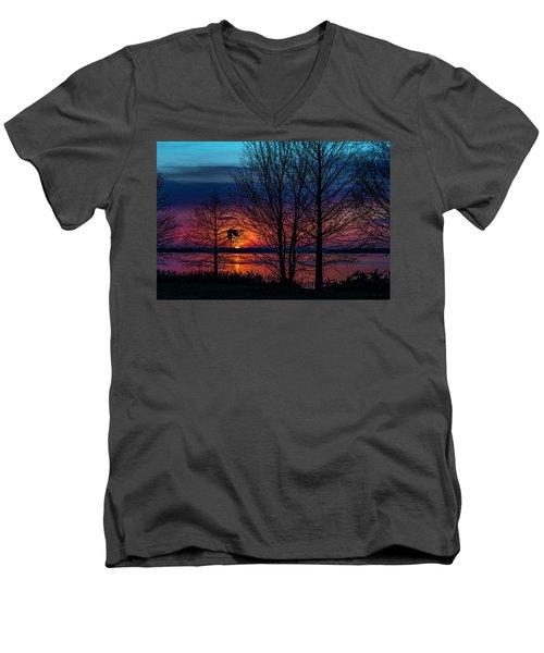 Always Beautiful Men's V-Neck T-Shirt