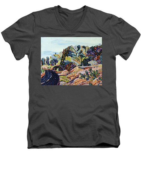 Always Returning Men's V-Neck T-Shirt by Erika Pochybova