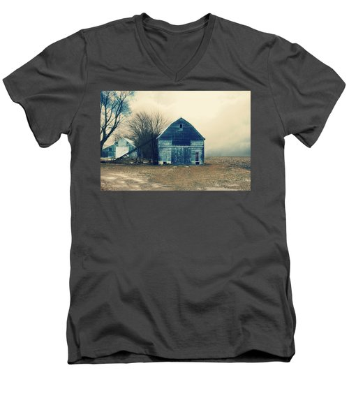 Men's V-Neck T-Shirt featuring the photograph Always Work To Do by Julie Hamilton