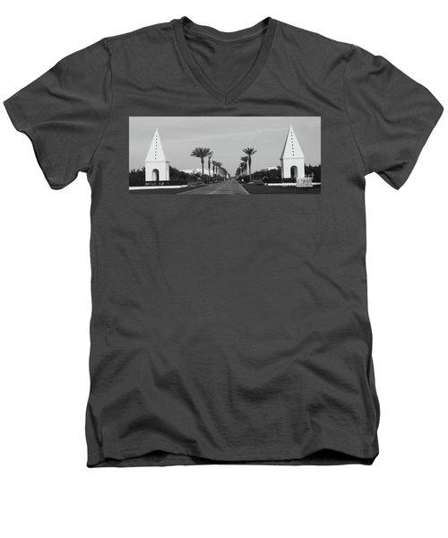 Alys Beach Entrance Men's V-Neck T-Shirt