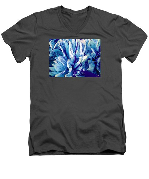 Amazing Dahlia Men's V-Neck T-Shirt