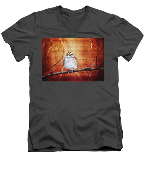 Amazing Grace Men's V-Neck T-Shirt