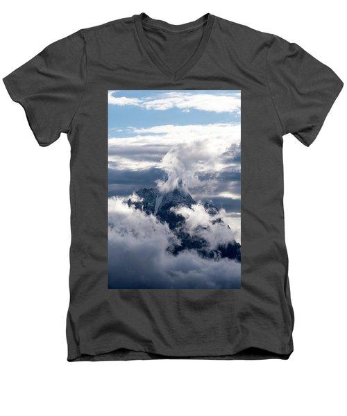 Amazing Grand Teton National Park Men's V-Neck T-Shirt