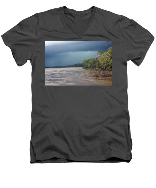 Amazonian Storm Study Number One Men's V-Neck T-Shirt